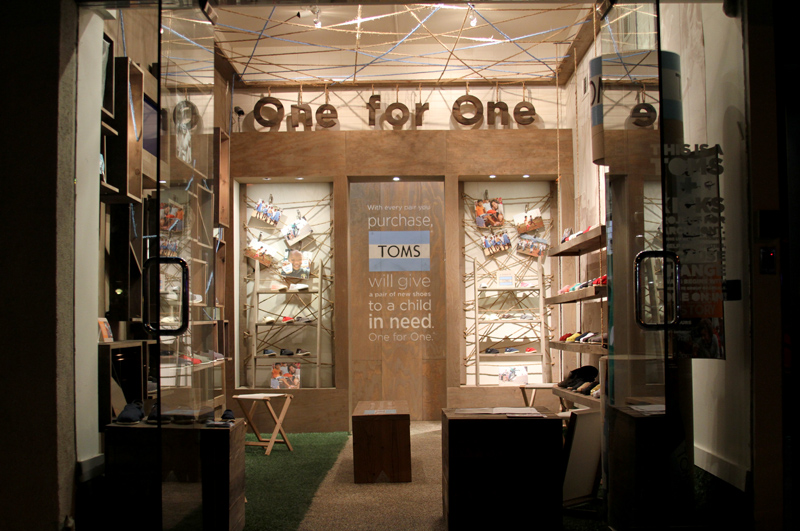 toms shoes retailers